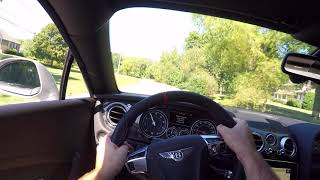 2017 Bentley Continental GT Supersports POV Test Drive