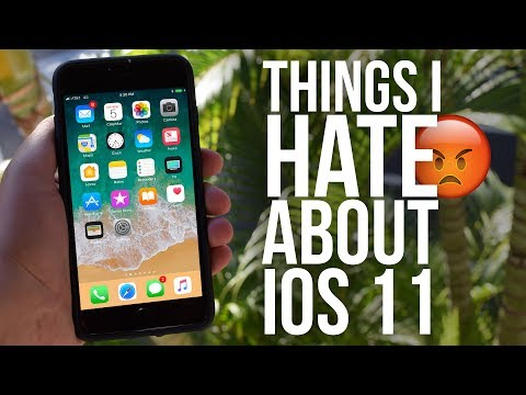 7 Things I HATE About iOS 11
