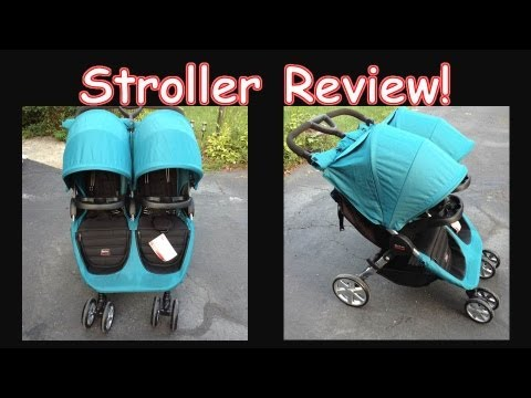 New Britax B-Agile Double Stroller Unboxing and Review ...
