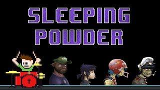 Gorillaz - Sleeping Powder (Blind Drum Cover) -- The8BitDrummer