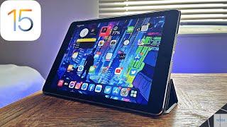 iPad OS 15 On iPad Air 2 (Review)