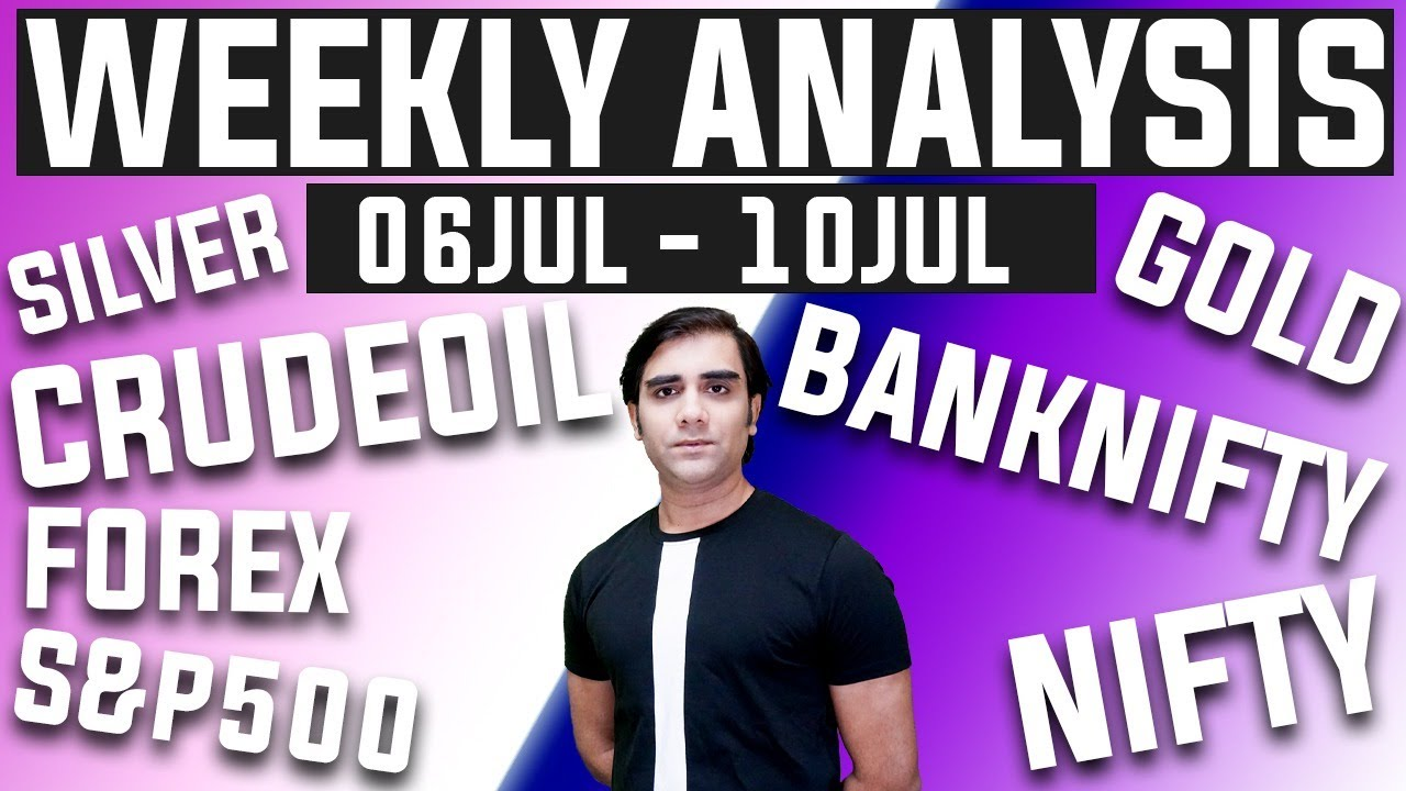 06 JUL - 10 JUL 2020 NIFTY | BANKNIFTY | S&P500 | GOLD | SILVER | CRUDE OIL | FOREX Trading Analysis