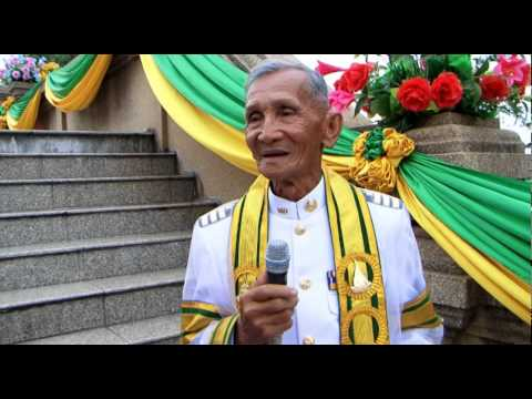 นาวาอากาศโทประเสริฐ รัมมนต์ บัณฑิตปริญญาโท มสธ. วัย 88 ปี