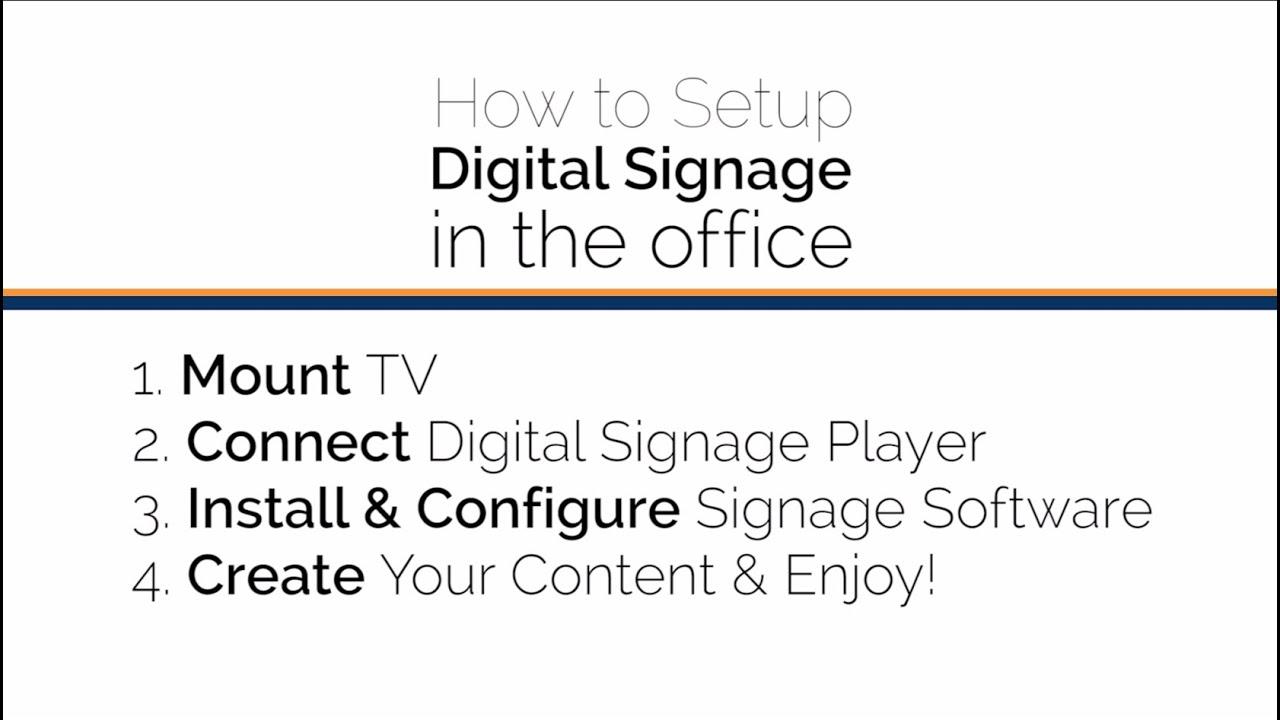 Digital Signage - 42U