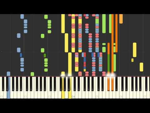 Cake by the ocean / DNCE (Instrumental version with keyboard animation)