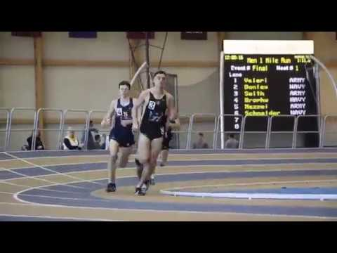 Navy Men's Track and Field Defeats Army