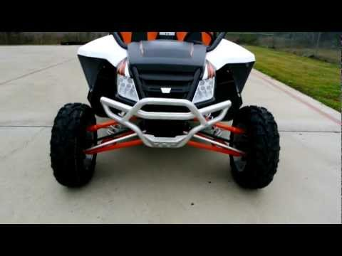 Overview and Reveiw: 2013 Arctic Cat Wildcat 1000 Limited White Metallic