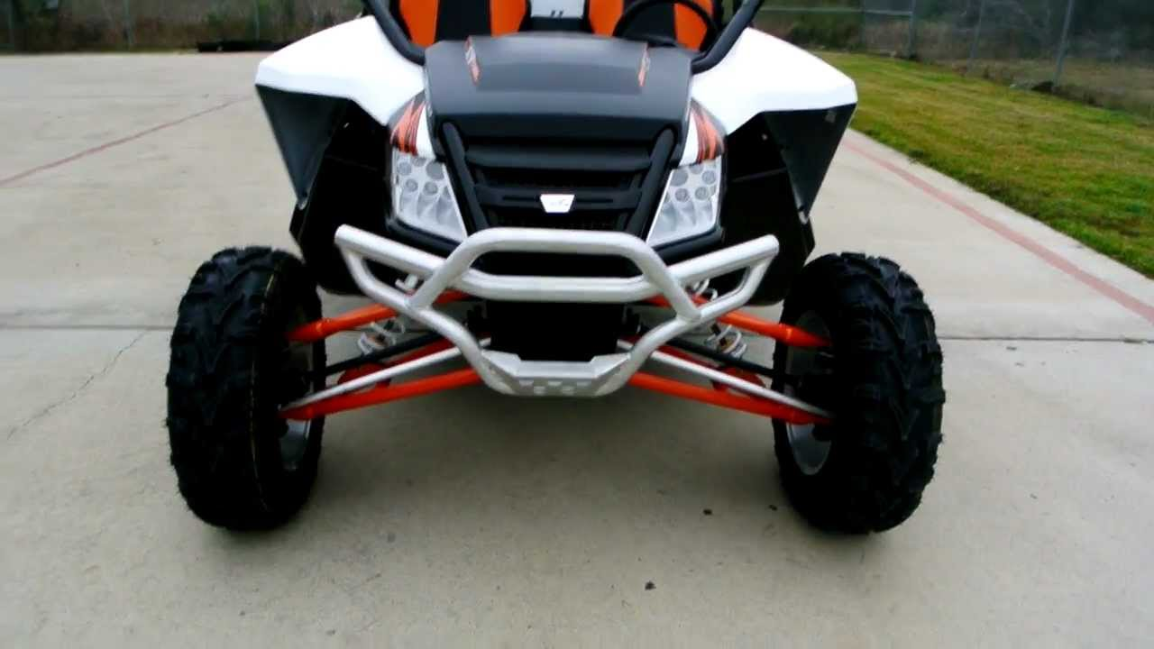 Overview and reveiw: 2013 arctic cat wildcat 1000 limited white.