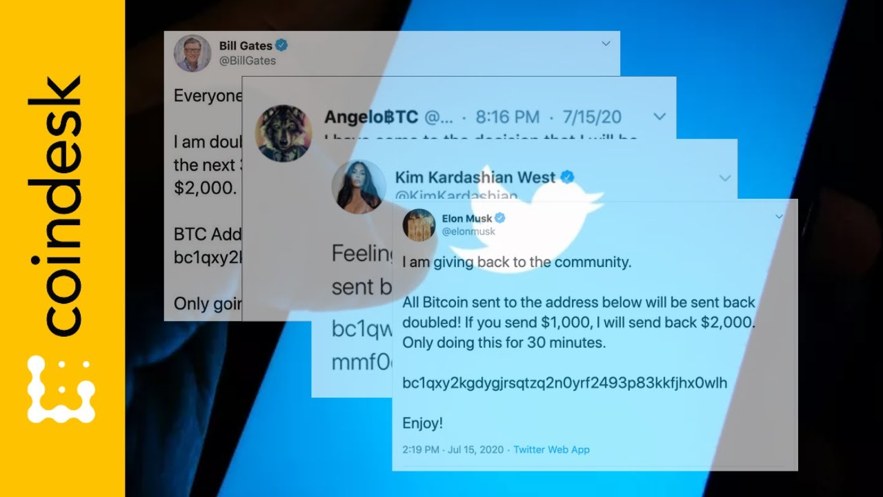 Watch: How a Massive Twitter Hack Promoted a $118K Bitcoin Scam