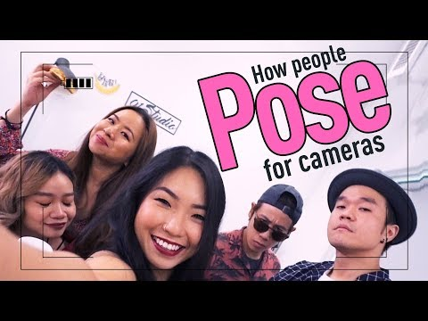 How People Pose For Cameras