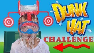 DUNK HAT CHALLENGE! - Family Game Night