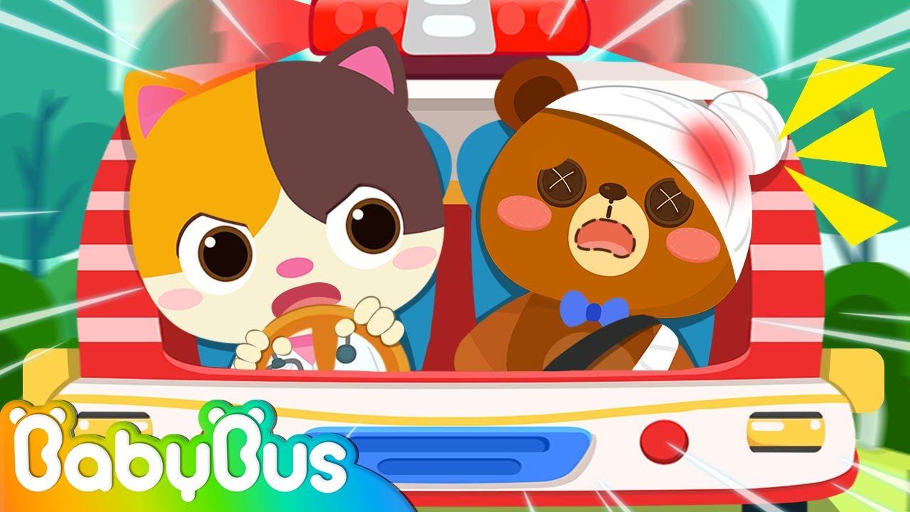 Toy Doctor & Ambulance | Jobs Song | Fireman, Policeman | Nursery Rhymes | Kids Cartoon | BabyBus