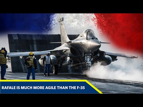 F-35 Lightning II Stealth Fighter Jet vs Dassault Rafale Fighter Jet -  Which would win