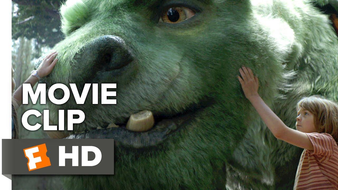 Pete's Dragon Movie CLIP - Pete Introduces Elliot (2016) - Robert Redford Movie