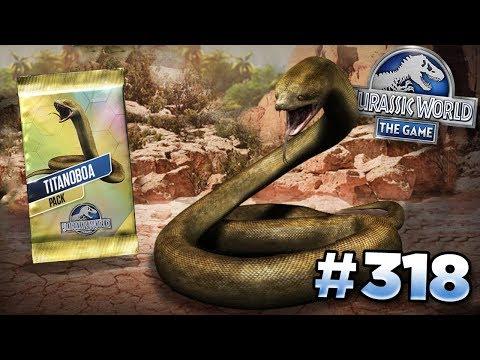 TITANOBOA TOURNAMENT! || Jurassic World - The Game - Ep318 HD
