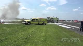 Aviators QUICK CLIP: Oshkosh Fire exercise