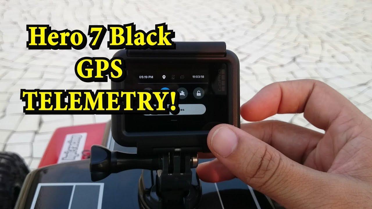 Gopro Hero 7 Black GPS Telemetry using Quik software - RC Car
