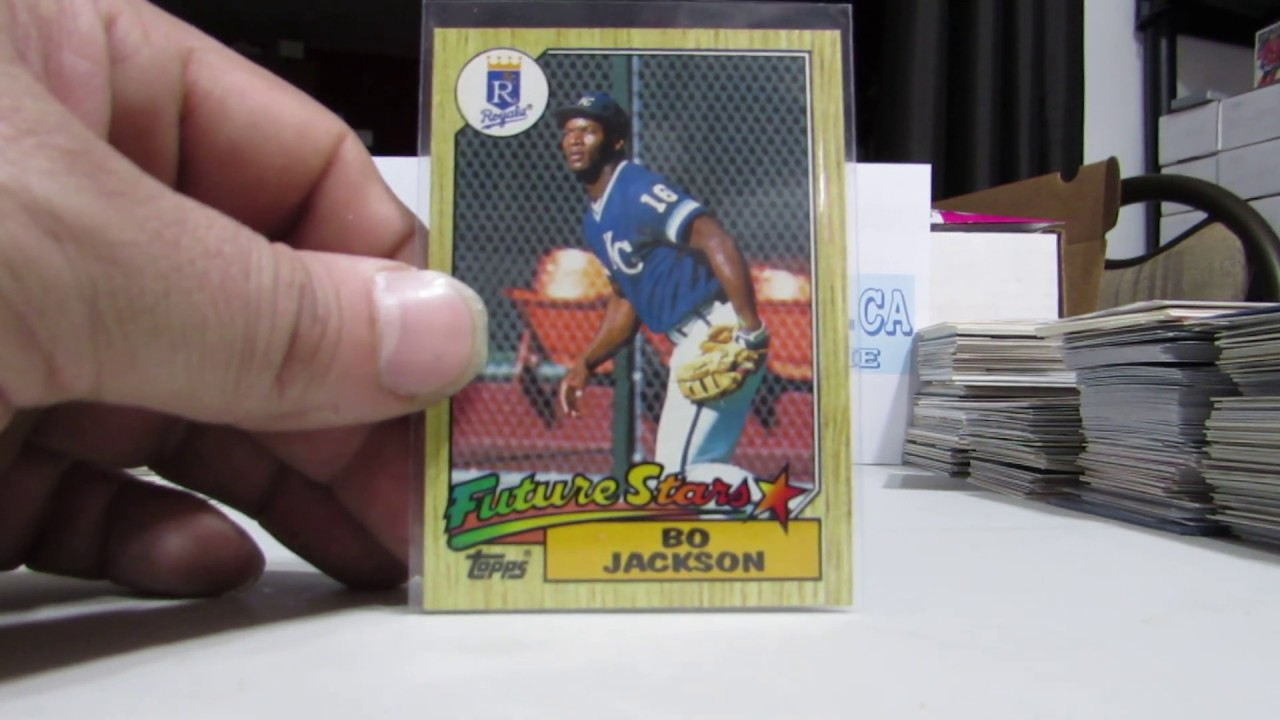 1987 Topps 170 Bo Jackson Royals Rc Rookie Card Yt43