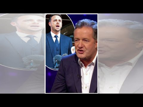 Piers Morgan Says Ant McPartlin 'Does Not Deserve Sympathy' After Star Is Fined £86K For Drink Driv
