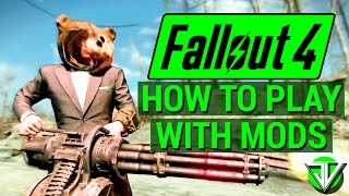 FALLOUT 4 How To Download and Play with MODS Bethesda.net Official Mods Guide