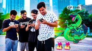 Pokemon GO: GANHEI UM RAYQUAZA ‹ EduKof Games ›