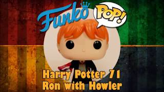 Harry Potter Ron Weasley With Howler Funko Pop Unboxing Harry Potter 71 Youtube