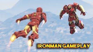 GTA 5 : IRONMAN MOD GAMEPLAY (MORE ARMORS !!)