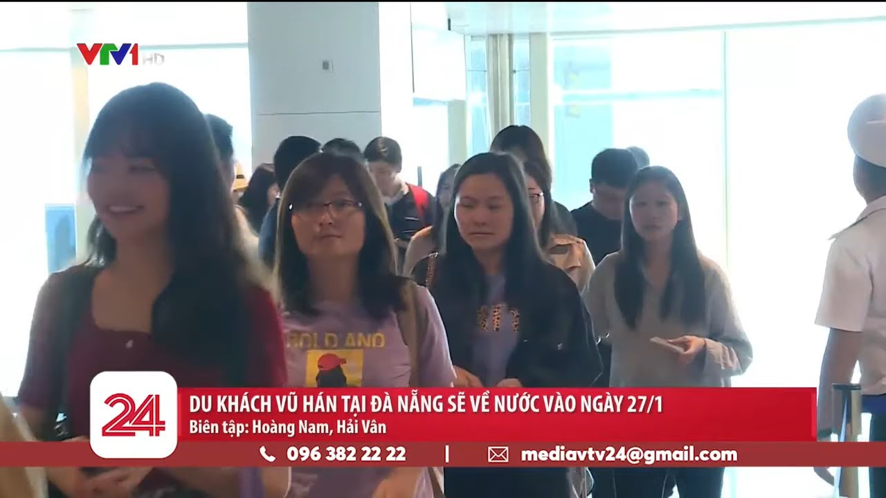 218 du khách từ vùng dịch Vũ Hán đang ở Đà Nẵng | VTV24