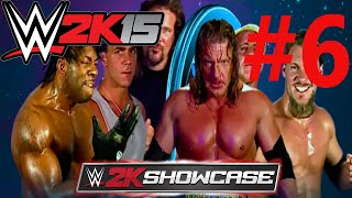 WWE2K15 Bölüm 6 HBK, Kevin Nash, Booker T. vs. HHH, Y2J, Flair - Backlash