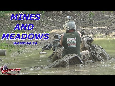 MINES AND MEADOWS ATV PARK PT 1 FOUND THE DEEP STUFF!