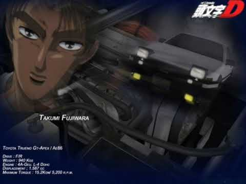 Initial D -  Black Out