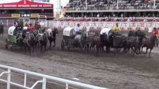 Calgary Stampede Chuckwagon Races Heat 7