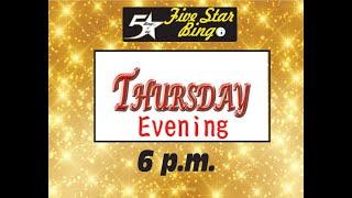 Five Star V-Bingo Live - JUNE 3 Evening