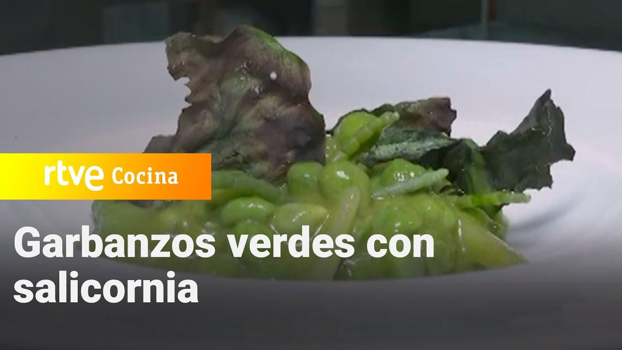 Garbanzos verdes con salicornia - Como Sapiens   RTVE Cocina