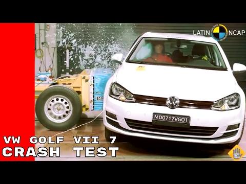 VW Golf VII 7 Crash Test - Volkswagen