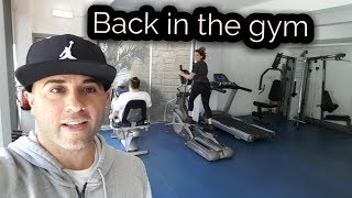 Cyprus Paphos : back in the gym!!!