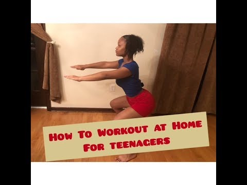 How to Workout at Home for Teenagers