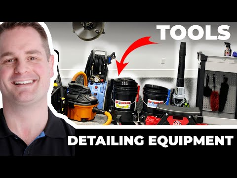 CAR DETAILING EQUIPMENT & TOOLS !!