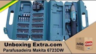 Unboxing Parafusadeira Makita 6723DW