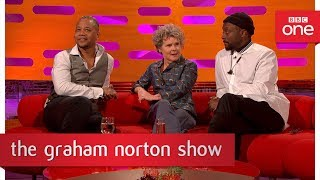 Imelda Staunton once went on stage with a mouse up her sleeve - The Graham Norton Show - BBC One