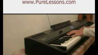 Justin Bieber - Down to Earth - Piano Tutorial.wmv
