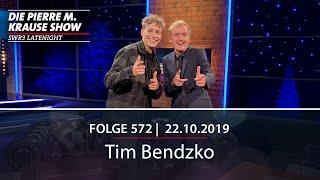 Pierre M. Krause Show vom 22.10.2019 mit Tim Bendzko