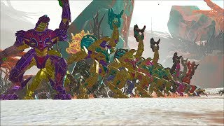 Dog Team 6 vs The King Titan   Official PvP   ARK Survival Evolved Gameplay