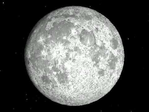 Фазы Луны. Анимация