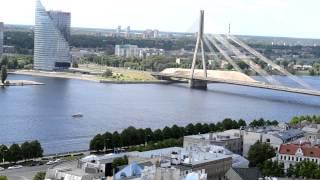 アキーラさん堪能!ラトヴィア・リガの絶景4,The city view of Riga,Latvia
