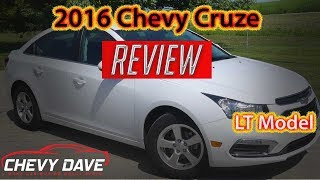 2016 Chevy Cruze LT Review - Chevy Cruze Review - A1385