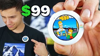 $99 OLED Badge Plays GIFs From an iPhone! Dope?