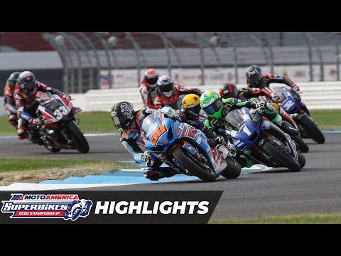 HONOS Superbike Race 1 Highlights at Indianapolis Motor Speedway 2020