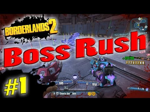 Borderlands 2 | Boss Rush Funny Moments And Drops #1