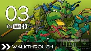 Teenage Mutant Ninja Turtles Out of the Shadows - TMNT Walkthrough Gameplay Part 3 (Chapter 2 1/4)